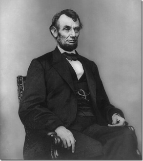 abraham-lincoln-seated-feb-9-1864